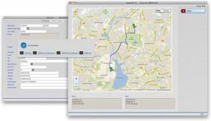 Google-Maps über VENTAS Adressenstamm